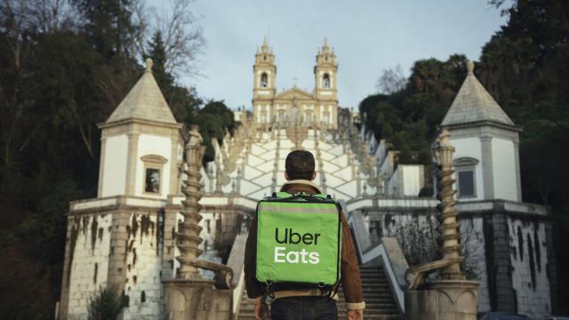 Uber Eats chegou a Braga
