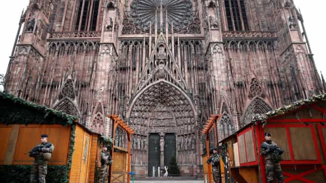 Estrasburgo: Não há registo de vítimas portuguesas até ao momento