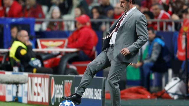 Eis o último onze do Benfica no adeus à Champions