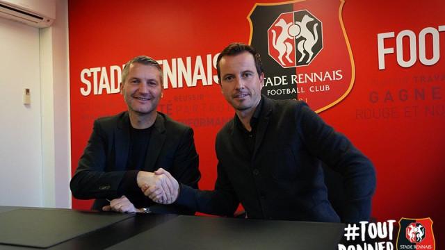 Rennes oferece contrato até 2020 ao treinador interino