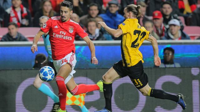 [0-0] Benfica-AEK: Intervalo na Luz