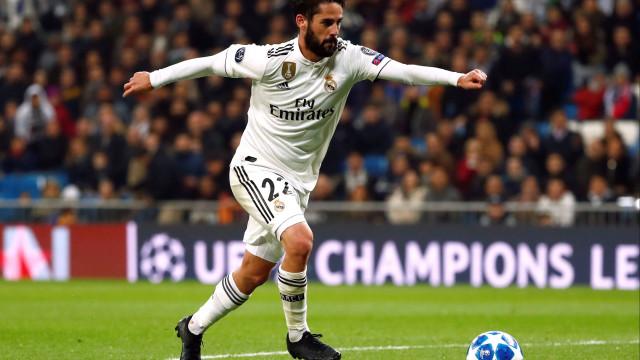 Isco vive pesadelo 'Real': Virou-se contra os adeptos em pleno Bernabéu