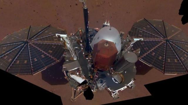 Novo robot da NASA partilhou selfie em Marte