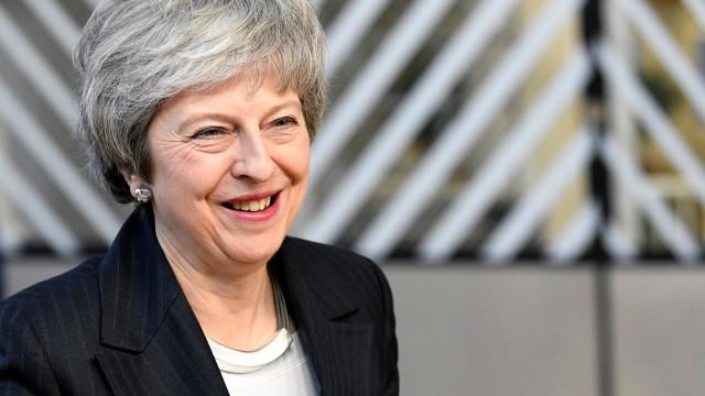 May apresenta no parlamento britânico as conclusões do Conselho Europeu