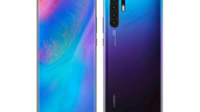 Partilhado o primeiro 'concept' do próximo topo de gama da Huawei