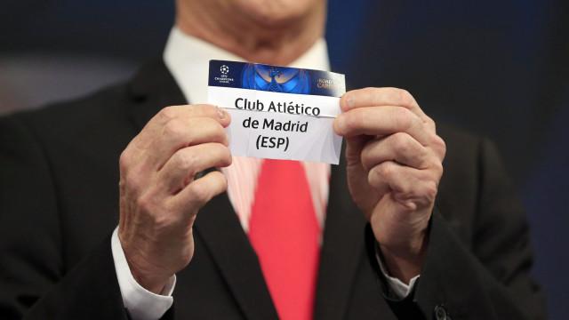 E o clube mais provável de calhar ao FC Porto é… o Atlético de Madrid