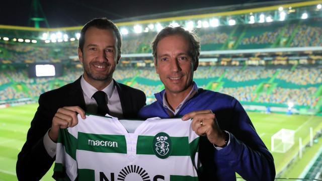 Sporting apresenta Alexandre Santos como treinador da equipa sub-23