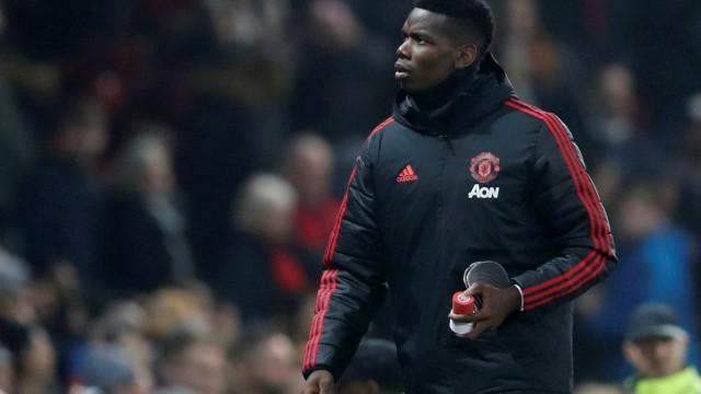 Pogba festejou demissão de Mourinho e o caldo entornou no treino