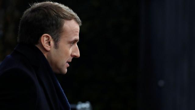 Macron em Estrasburgo para prestar homenagem a vítimas de ataque