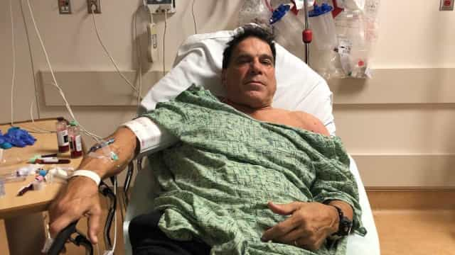 Ator Lou Ferrigno internado após tomar vacina contra a pneumonia