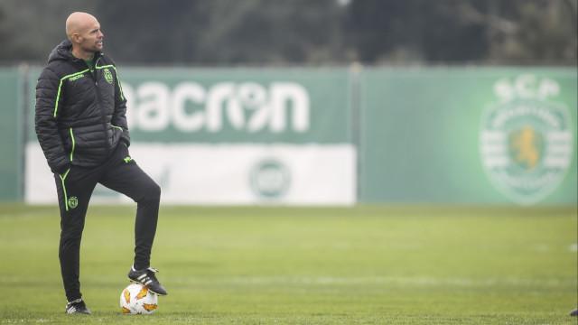 Keizer com 'boa-nova' na preparação para embate com Sp. Braga