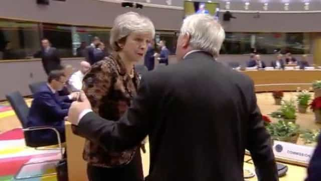 Brexit: Juncker e May em 'troca acesa' de palavras?