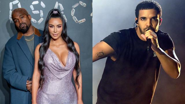 Kim manda 'recado' a Drake após ameaças contra o marido e filhos