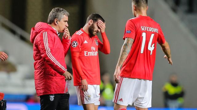 Benfica esclarece lesão de Rafa e jogador deve falhar (no mínimo) 4 jogos