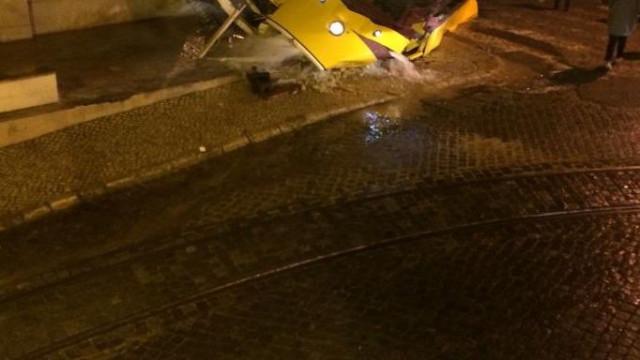 Descarrilamento de elétrico em Lisboa faz vários feridos