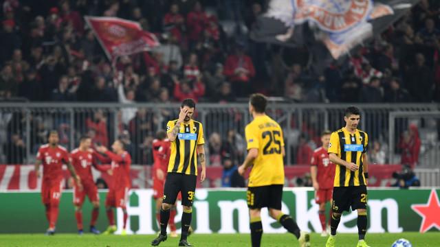 AEK vai reembolsar 10 euros a cada adepto do Bayern