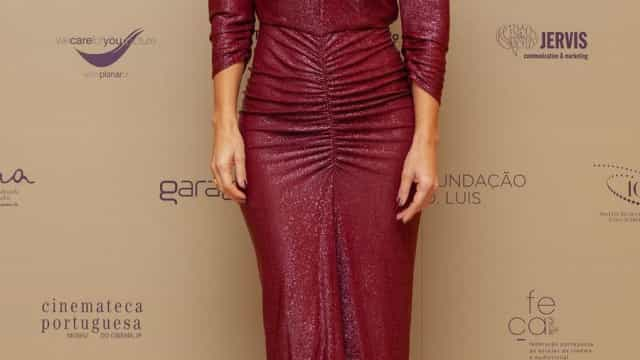 Vermelho fatal: O look de Liliana Santos nos Prémios Sophia