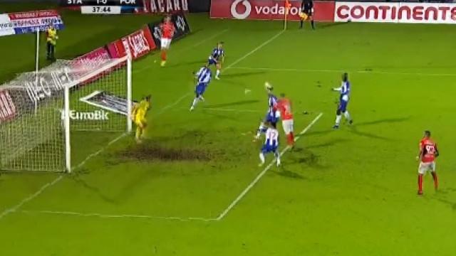 Foi assim que Zé Manuel desfez o nulo no Santa Clara-FC Porto