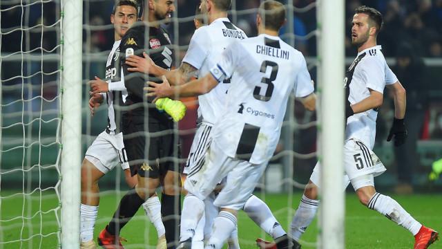 Golo de Ronaldo garante triunfo à Juventus no dérbi de Turim