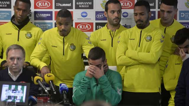 """Óliver deixa mensagem a Nuno Pinto: """"Há muito futebol à tua espera"""""""