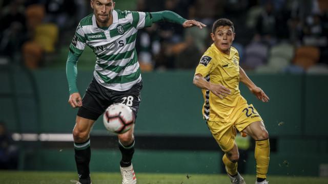 [1-2] Sporting-Nacional: Intervalo em Alvalade