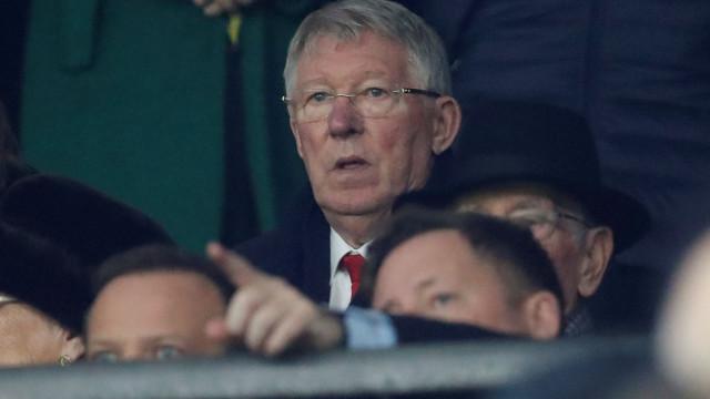 A reação de Alex Ferguson a mais um deslize do United já se tornou viral
