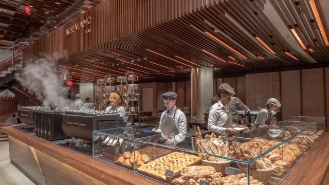 Starbucks inaugura a primeira Starbucks Reserve Roastery de Nova Iorque