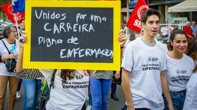 Sindicato dos Enfermeiros admite novas formas de luta em janeiro