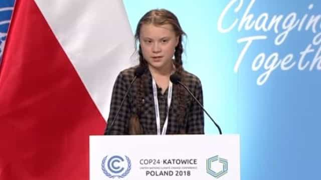 Com 15 anos, Greta Thunberg deixou líderes mundiais sem palavras