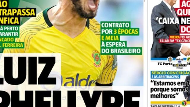 Por cá: Sorte na Champions, reunião da Liga e Luiz Phellype por horas