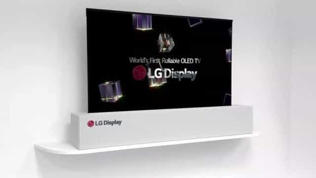 LG lançará mesmo televisão que pode ser enrolada