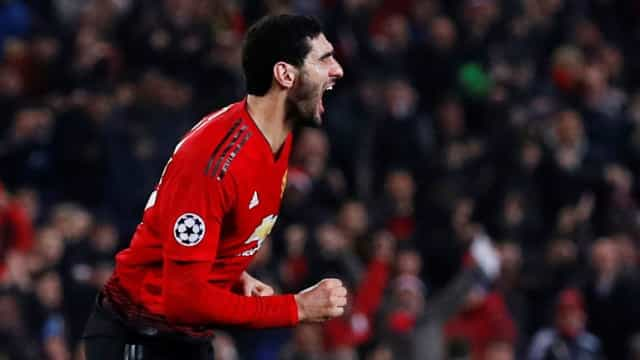 Belgas colocam Fellaini no radar do FC Porto