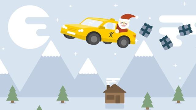Vá às compras de Natal com a mytaxi e usufrua de 60% de desconto