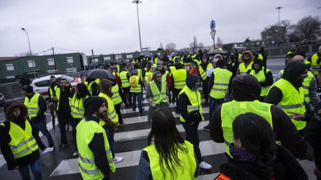 Coletes Amarelos ao minuto: Oito manifestantes identificados pela PSP