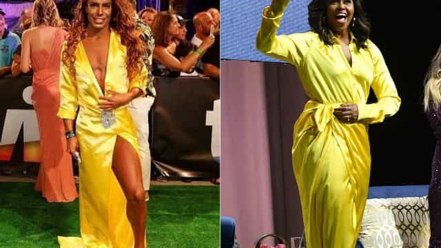 Look: Carlos Costa compara-se a Michelle Obama