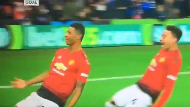 Sem Mourinho, United demorou... três minutos a chegar ao golo