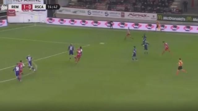 Ex-Belenenses aponta golo de outro mundo frente ao Anderlecht