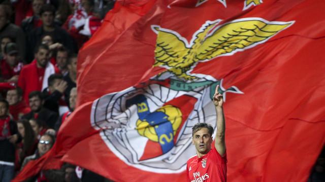 Benfica deixa agradecimento a Jonas e uma promessa para o futuro
