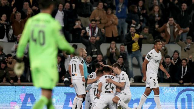 [1-0] D. Afonso Henriques vai à loucura com golo do Vitória