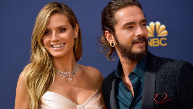 Heidi Klum e Tom Kaulitz casam-se num iate de luxo