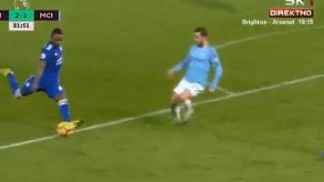 O golaço de Ricardo Pereira que 'afundou' o Manchester City