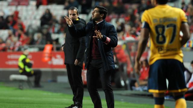 Benfica multado por ter passado imagens em direto de Abel Ferreira na Luz