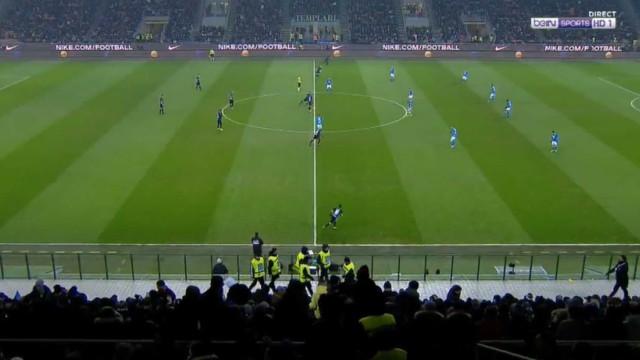 Pontapé de saída? Icardi tentou fazer o impossível no Inter-Nápoles