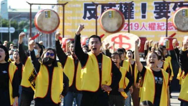 """Depois de França e Portugal, """"coletes amarelos"""" chegam a Taiwan"""
