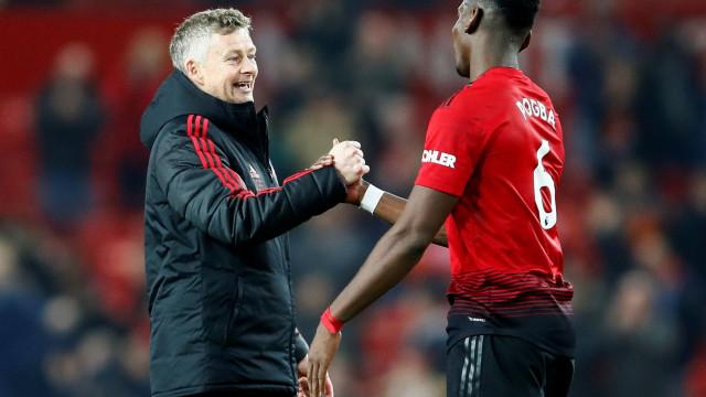 """""""Pogba? Eu também não lidero como Ferguson, Van Gaal ou Mourinho"""""""
