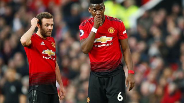 Revelado o discurso de Pogba no 1.º jogo pós-Mourinho em Old Trafford