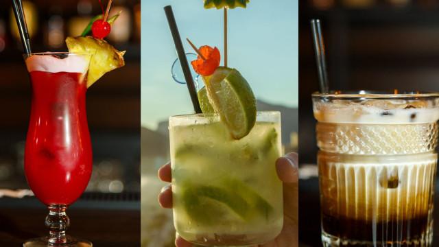 Viaje pelo mundo com estes incríveis cocktails