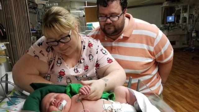 Bebé com mais de 6 Kg bate recorde em hospital do Texas