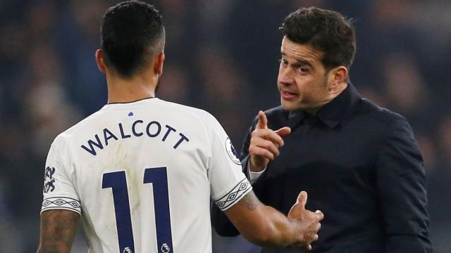 Marco Silva quer Everton ambicioso mas deixa alerta