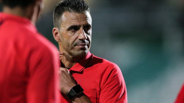 Manuel Oliveira apita o Sporting de Braga-Sporting